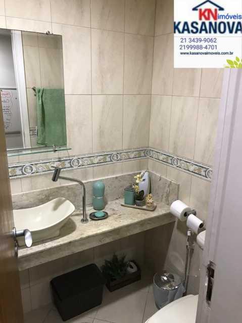 18 - Apartamento 3 quartos à venda Laranjeiras, Rio de Janeiro - R$ 1.100.000 - KFAP30214 - 19