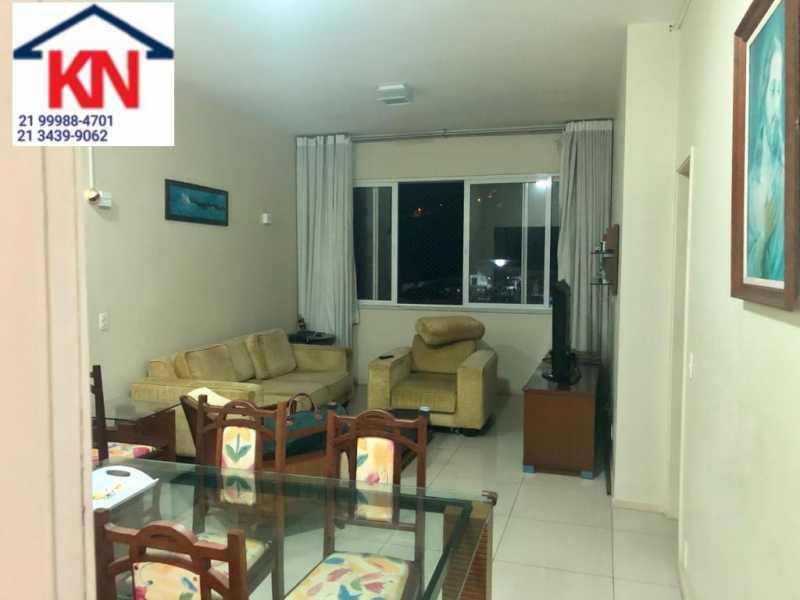 02 - Apartamento 3 quartos à venda Laranjeiras, Rio de Janeiro - R$ 1.000.000 - KFAP30219 - 3