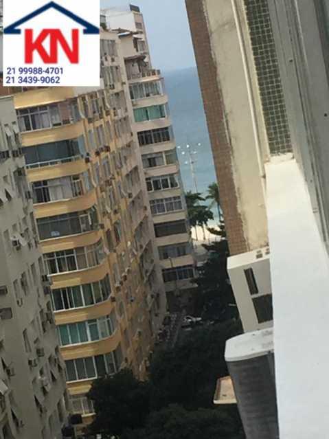 01 - Apartamento 2 quartos à venda Copacabana, Rio de Janeiro - R$ 1.100.000 - KFAP20280 - 1