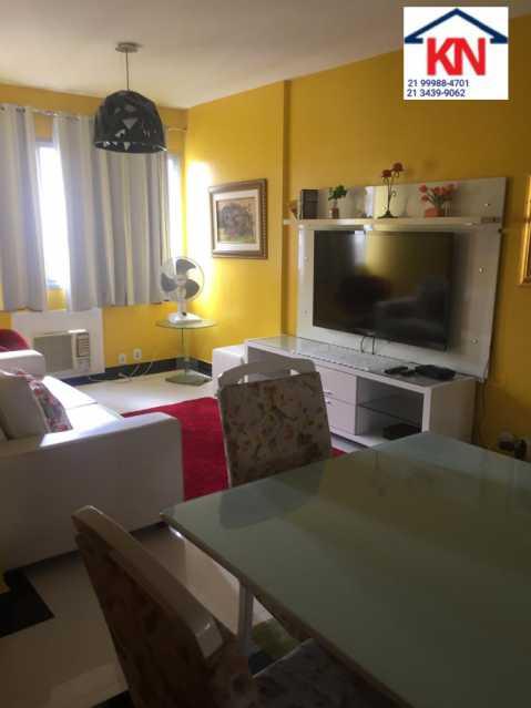 02 - Apartamento 2 quartos à venda Copacabana, Rio de Janeiro - R$ 1.100.000 - KFAP20280 - 3