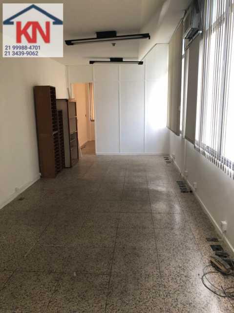 02 - Sala Comercial 48m² à venda Botafogo, Rio de Janeiro - R$ 850.000 - KFSL00022 - 3