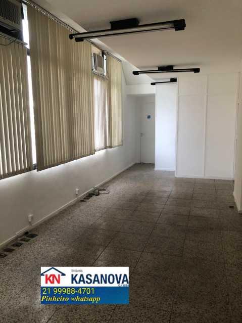 01 - Sala Comercial 48m² para alugar Botafogo, Rio de Janeiro - R$ 3.700 - KFSL00023 - 1