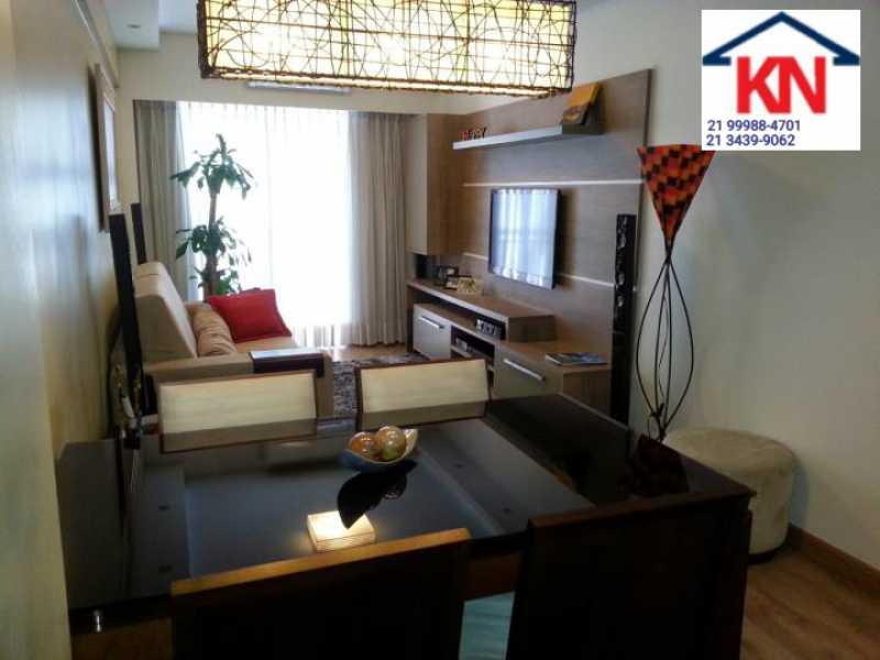 04 - Apartamento 2 quartos à venda Laranjeiras, Rio de Janeiro - R$ 895.000 - KFAP20282 - 5