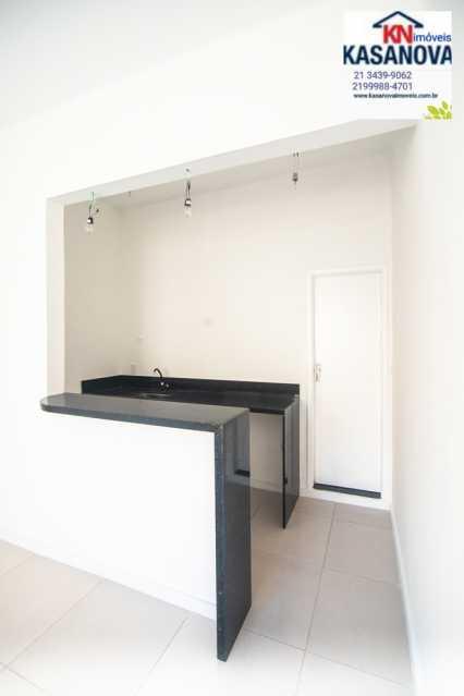 25 - Kitnet/Conjugado 30m² à venda Laranjeiras, Rio de Janeiro - R$ 290.000 - KFKI00084 - 26