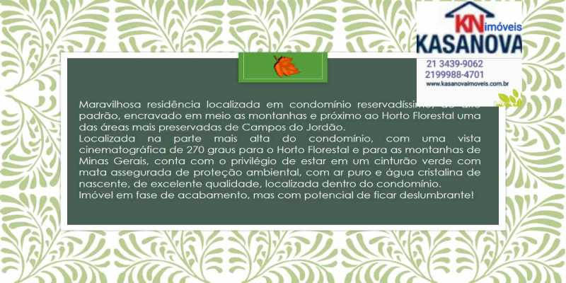21 - Casa em Condomínio 3 quartos à venda descansópolis, Campos do Jordão - R$ 2.200.000 - KFCN30002 - 22