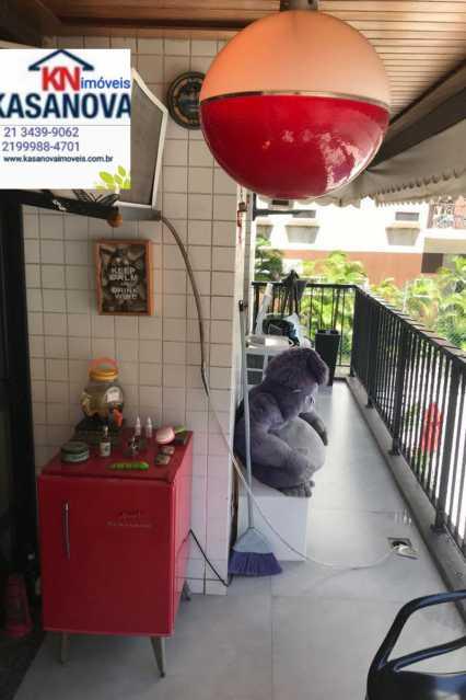 03 - Apartamento 2 quartos à venda Humaitá, Rio de Janeiro - R$ 820.000 - KSAP20101 - 4