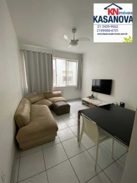 02 - Apartamento 2 quartos à venda Ipanema, Rio de Janeiro - R$ 900.000 - KSAP20103 - 3