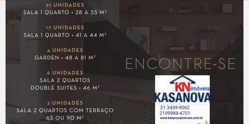 01 - Apartamento à venda Flamengo, Rio de Janeiro - R$ 520.000 - KFAP00069 - 1