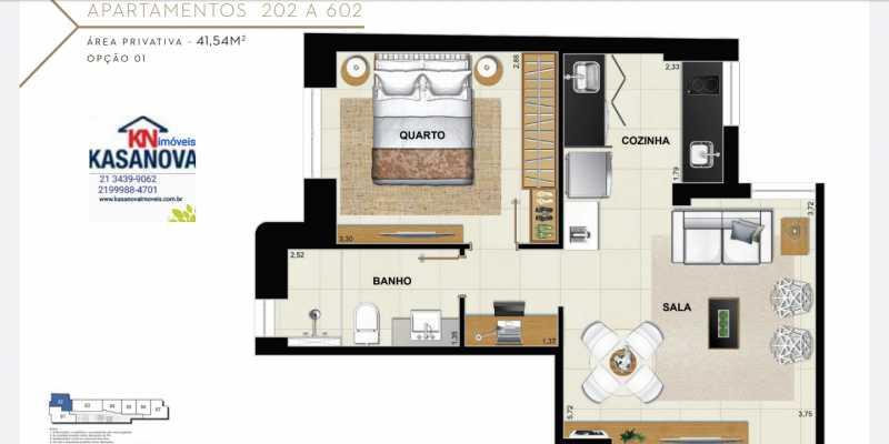 16 - Apartamento à venda Flamengo, Rio de Janeiro - R$ 520.000 - KFAP00069 - 17