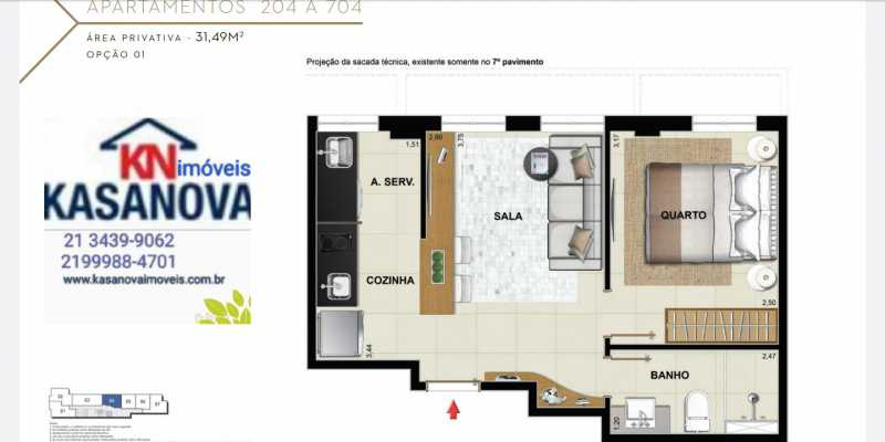 17 - Apartamento à venda Flamengo, Rio de Janeiro - R$ 520.000 - KFAP00069 - 18