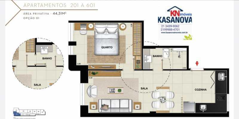 18 - Apartamento à venda Flamengo, Rio de Janeiro - R$ 520.000 - KFAP00069 - 19