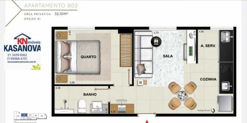 23 - Apartamento à venda Flamengo, Rio de Janeiro - R$ 520.000 - KFAP00069 - 24