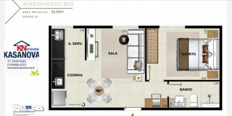 24 - Apartamento à venda Flamengo, Rio de Janeiro - R$ 520.000 - KFAP00069 - 25