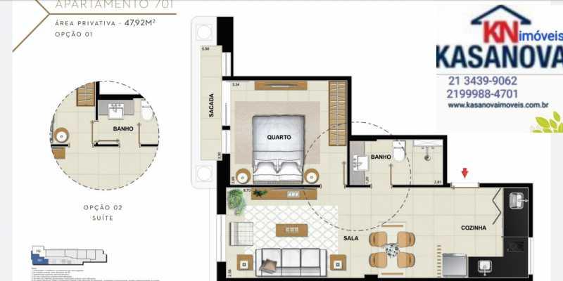 25 - Apartamento à venda Flamengo, Rio de Janeiro - R$ 520.000 - KFAP00069 - 26