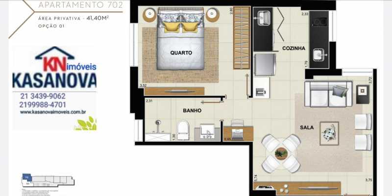 26 - Apartamento à venda Flamengo, Rio de Janeiro - R$ 520.000 - KFAP00069 - 27