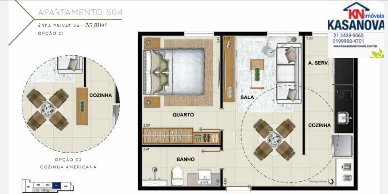 28 - Apartamento à venda Flamengo, Rio de Janeiro - R$ 520.000 - KFAP00069 - 29