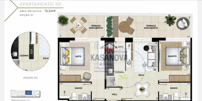 15 - Apartamento à venda Flamengo, Rio de Janeiro - R$ 520.000 - KFAP00069 - 16