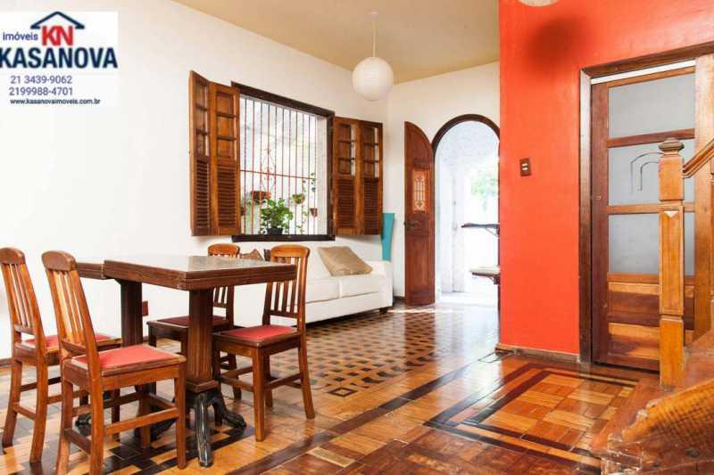 01 - Casa 6 quartos à venda Cosme Velho, Rio de Janeiro - R$ 1.100.000 - KFCA60007 - 1