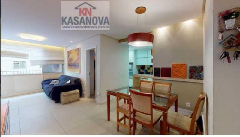 02 - Apartamento 2 quartos à venda Laranjeiras, Rio de Janeiro - R$ 1.180.000 - KFAP20370 - 3