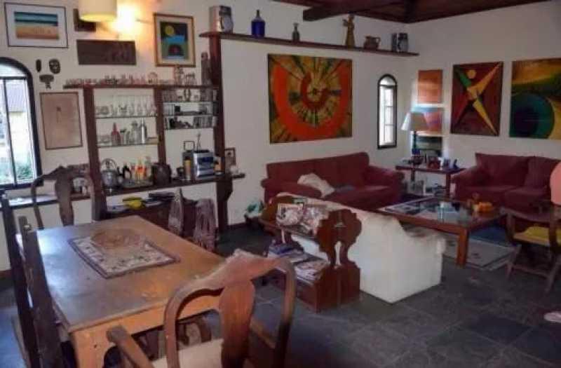 02 - Casa 4 quartos à venda Cosme Velho, Rio de Janeiro - R$ 1.500.000 - FC40097 - 3