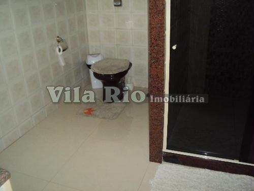BANHEIRO1.2 - Casa 3 quartos à venda Vila da Penha, Rio de Janeiro - R$ 450.000 - VR30219 - 18