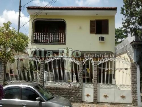 FACHADA - Casa 4 quartos à venda Vila Valqueire, Rio de Janeiro - R$ 1.000.000 - VR40078 - 24