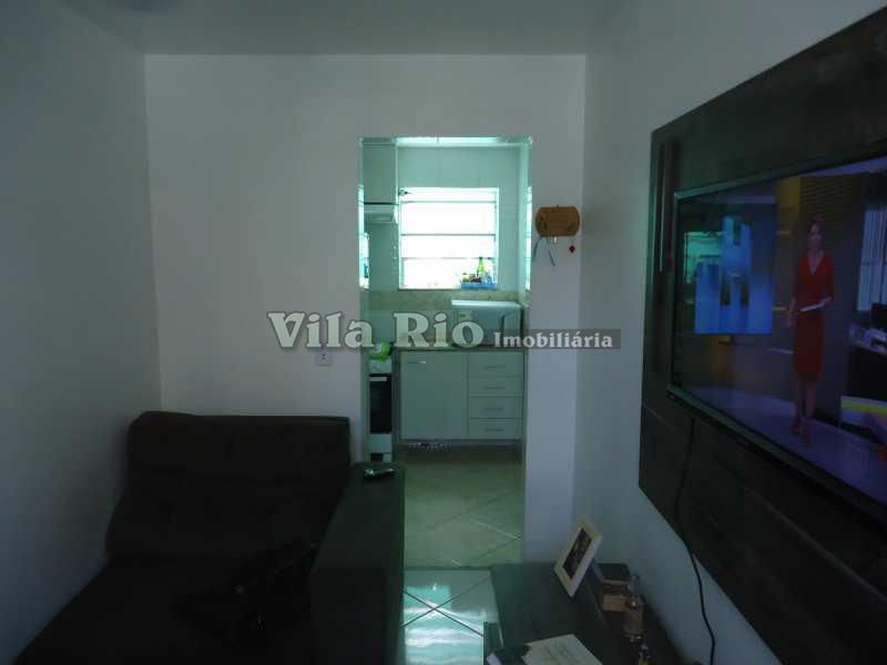 SALA - Apartamento 1 quarto à venda Honório Gurgel, Rio de Janeiro - R$ 125.000 - VRAP10001 - 4