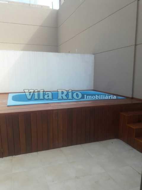 PISCINA - Cobertura 3 quartos à venda Vila da Penha, Rio de Janeiro - R$ 1.050.000 - VRCO30001 - 16