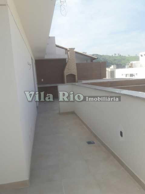 TERRAÇO - Cobertura 3 quartos à venda Vila da Penha, Rio de Janeiro - R$ 1.050.000 - VRCO30001 - 18