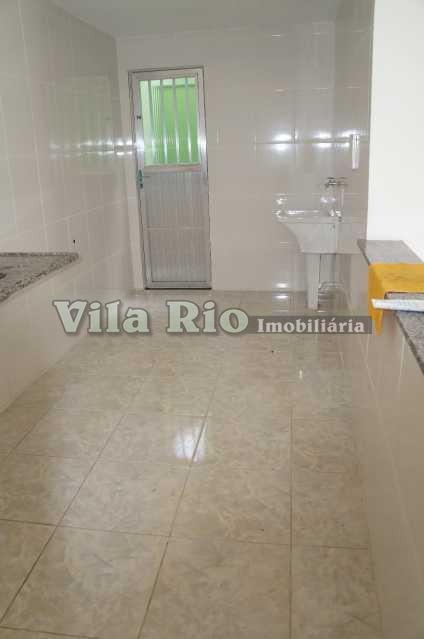 COZINHA 1. - Casa em Condominio Penha,Rio de Janeiro,RJ Para Alugar,1 Quarto,39m² - VCN10002 - 7