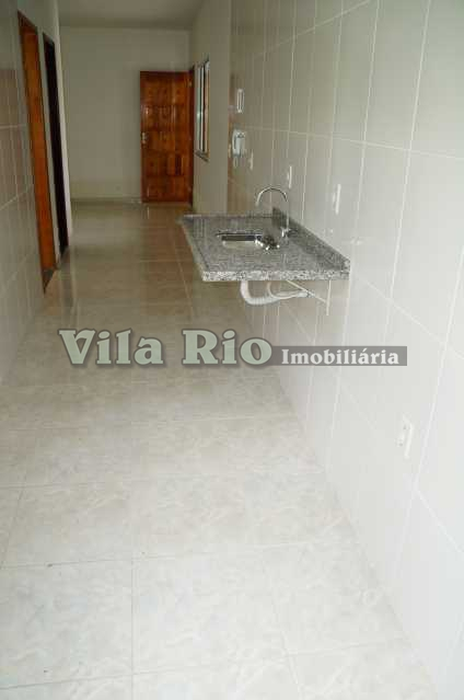 COZINHA 3. - Casa em Condominio Penha,Rio de Janeiro,RJ Para Alugar,1 Quarto,39m² - VCN10002 - 9