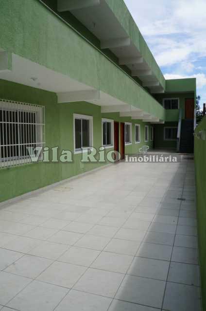 FACHADA 1. - Casa em Condominio Penha,Rio de Janeiro,RJ Para Alugar,1 Quarto,39m² - VCN10002 - 11
