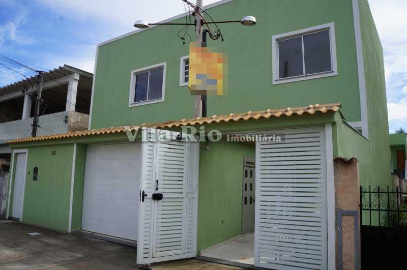 FACHADA 2. - Casa em Condominio Penha,Rio de Janeiro,RJ Para Alugar,1 Quarto,39m² - VCN10002 - 12