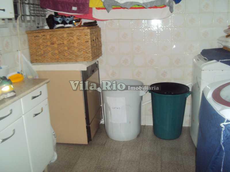 ÁREA SERVIÇO - Casa 3 quartos à venda Vila da Penha, Rio de Janeiro - R$ 1.120.000 - VCA30001 - 12