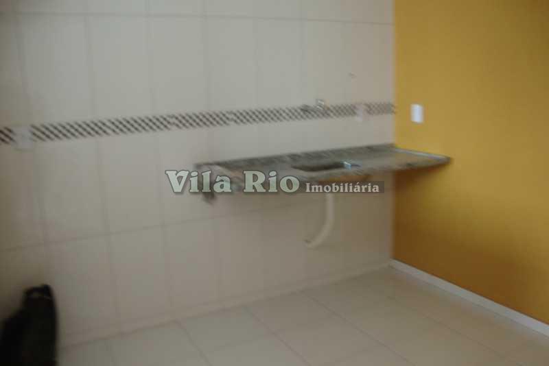 COZINHA - Casa em Condomínio 3 quartos à venda Oswaldo Cruz, Rio de Janeiro - R$ 275.000 - VCN30002 - 5