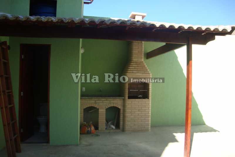 ÁREA EXTERNA  1 - Casa em Condomínio 3 quartos à venda Oswaldo Cruz, Rio de Janeiro - R$ 275.000 - VCN30002 - 11