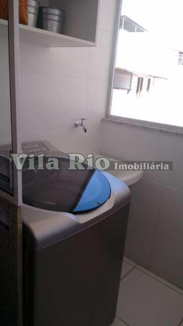 ÁREA DE SERVIÇO - Apartamento 1 quarto à venda Irajá, Rio de Janeiro - R$ 272.793 - VAP10006 - 5