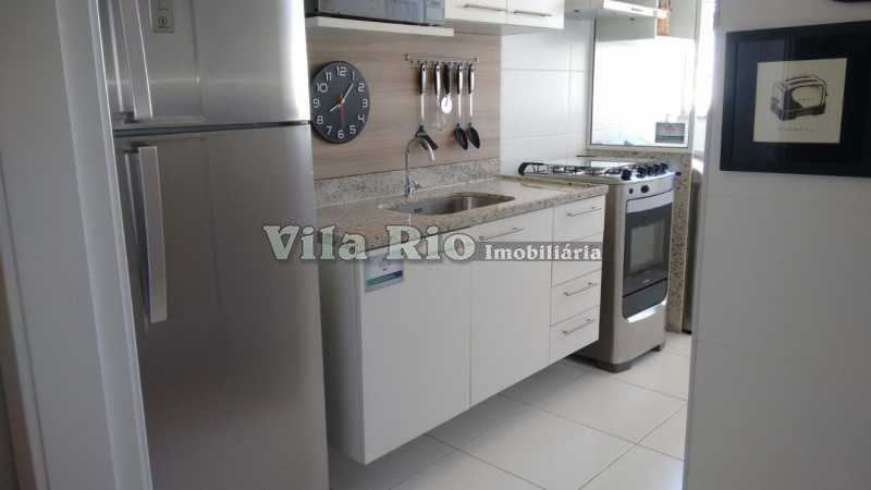 COZINHA 1 - Apartamento 1 quarto à venda Irajá, Rio de Janeiro - R$ 272.793 - VAP10006 - 10