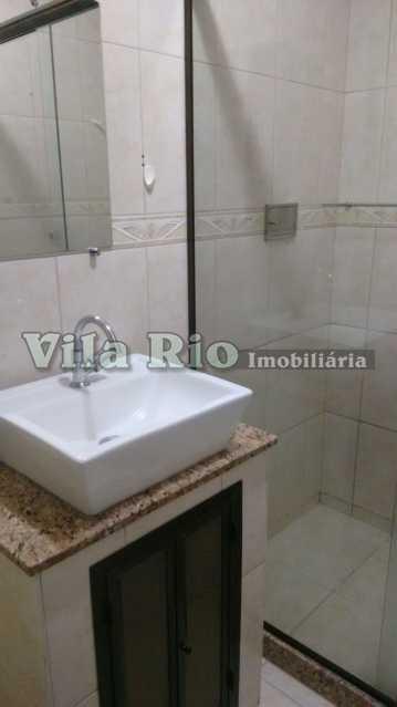 Banheiro - Apartamento Vista Alegre, Rio de Janeiro, RJ À Venda, 2 Quartos, 82m² - VAP20051 - 12