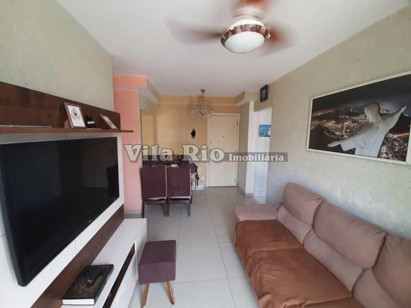 SALA 2 - Apartamento 2 quartos à venda Irajá, Rio de Janeiro - R$ 210.000 - VAP20062 - 1