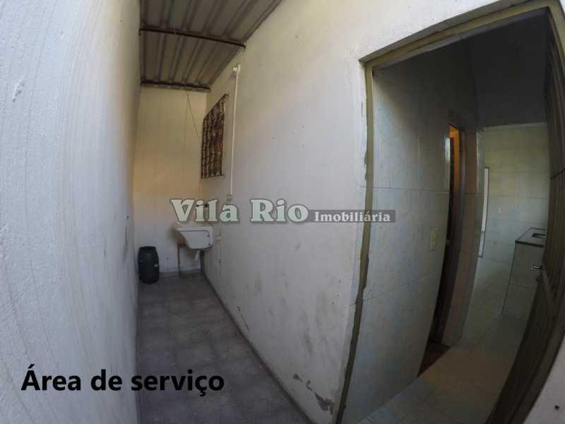 Área de serviço - Casa 1 quarto para alugar Cordovil, Rio de Janeiro - R$ 700 - VCA10001 - 8