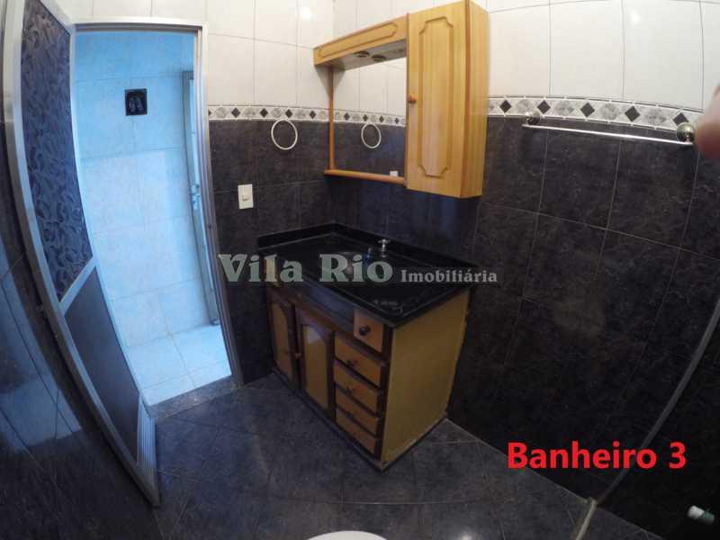 Banheiro 3 - Casa 1 quarto para alugar Cordovil, Rio de Janeiro - R$ 700 - VCA10001 - 9