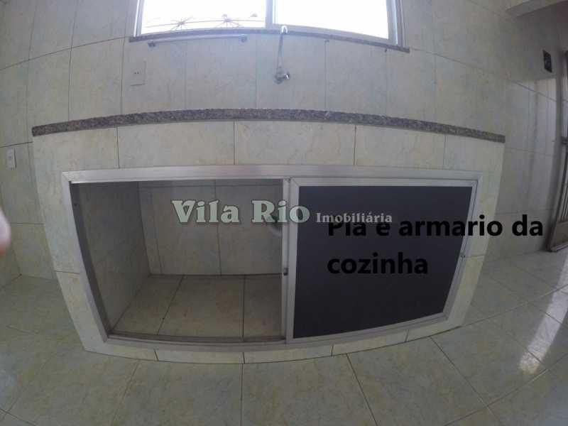 cozinha 2 - Casa 1 quarto para alugar Cordovil, Rio de Janeiro - R$ 700 - VCA10001 - 12