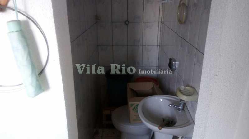 BANHEIRO DE EMPREGADA - Casa 3 quartos à venda Vila da Penha, Rio de Janeiro - R$ 790.000 - VCA30011 - 8