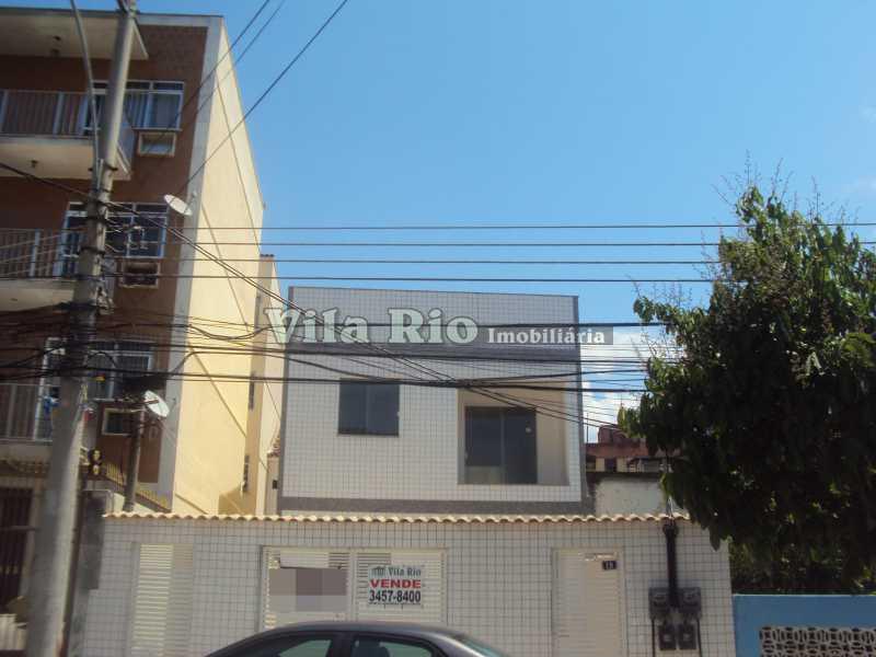 FACHADA - Casa em Condomínio 1 Quarto À Venda Vila da Penha, Rio de Janeiro - R$ 350.000 - VCN10003 - 1