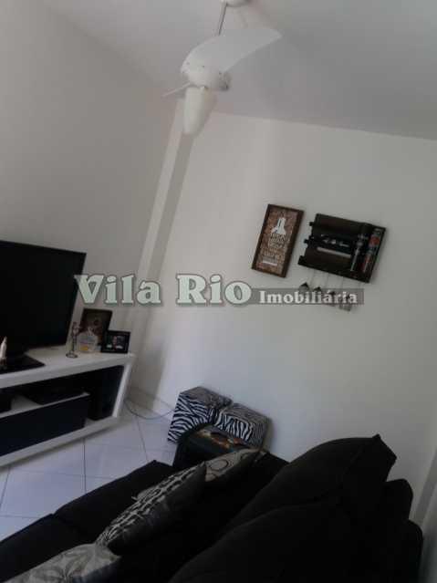 SALA 1 - Apartamento 1 quarto à venda Vaz Lobo, Rio de Janeiro - R$ 115.000 - VAP10009 - 3