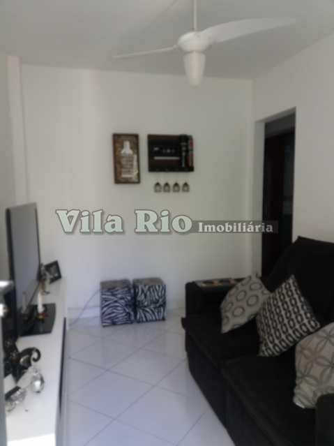 SALA 2 - Apartamento 1 quarto à venda Vaz Lobo, Rio de Janeiro - R$ 115.000 - VAP10009 - 1