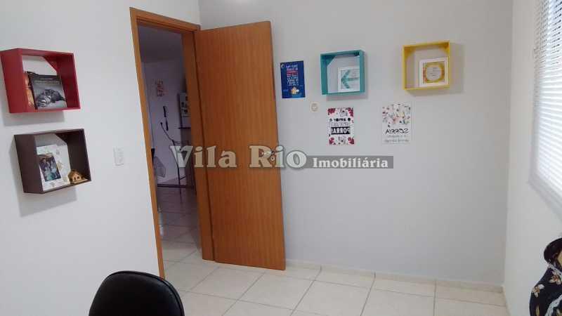 QUARTO 1 - Apartamento À VENDA, Parada de Lucas, Rio de Janeiro, RJ - VAP20114 - 4