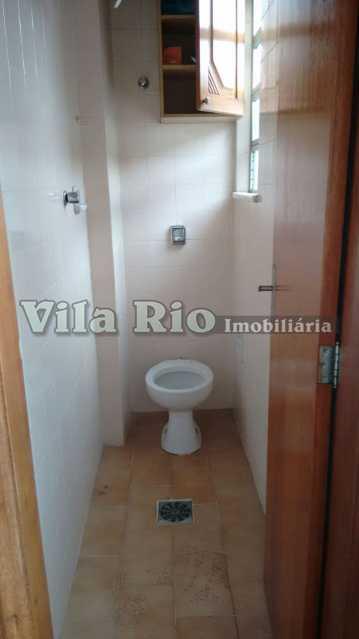 Banheiro de serviço - Apartamento 2 quartos para alugar Vista Alegre, Rio de Janeiro - R$ 1.250 - VAP20116 - 12