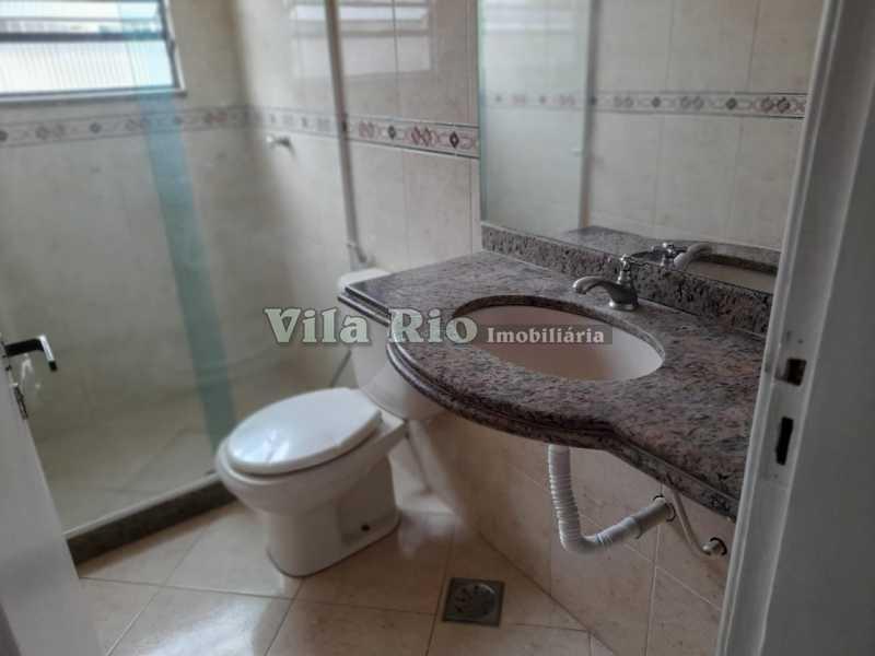 BANHEIRO 1. - Apartamento 2 quartos para alugar Vista Alegre, Rio de Janeiro - R$ 1.100 - VAP20129 - 10